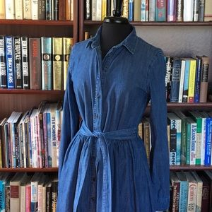 Draper James Chambray Shirtdress RN 147487 sz 10